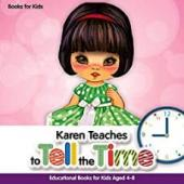 Karen Teaches to Tell the Time - Book cover