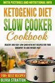Keto Slow Cooker Cookbook - Book cover
