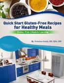 Quick Start Gluten-Free Recipes for Healthy Meals - Book cover