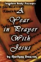 A Year in Prayer With Jesus - Book Cover