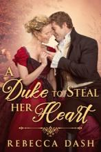 A Duke To Steal Her Heart - Book cover