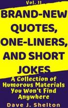 Brand-New Quotes, One-liners, and Short Jokes - Book cover