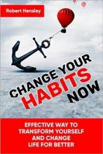Change Your Habits Now - Book cover