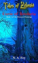 Curse of Kredaria - Book cover