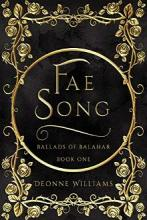 Fae Song: Ballads of Balahar - Book cover
