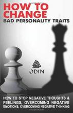 How To Change Bad Personality Traits - Book cover