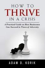 How to Thrive in a Crisis - Book cover