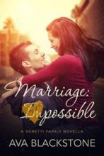 Marriage: Impossible (book) by Ava Blackstone