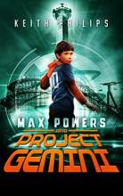 Max Powers and Project Gemini - Book cover