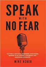 Speak With No Fear - Book cover
