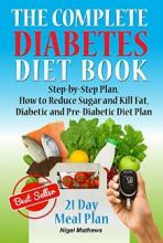 The Complete Diabetes Diet Book - Book cover
