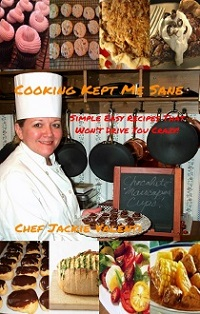 Cooking Kept Me Sane - Book Image