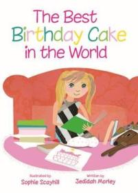The Best Birthday Cake In The World - Book Cover