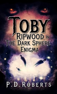 Toby Ripwood in The Dark Sphere Enigma - Book Image